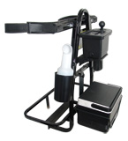 golf cart grab bar and golf bag holder
